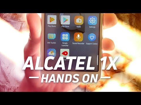 Alcatel 1X Hands-on: Testing Oreo Go Edition on a 1GB Phone