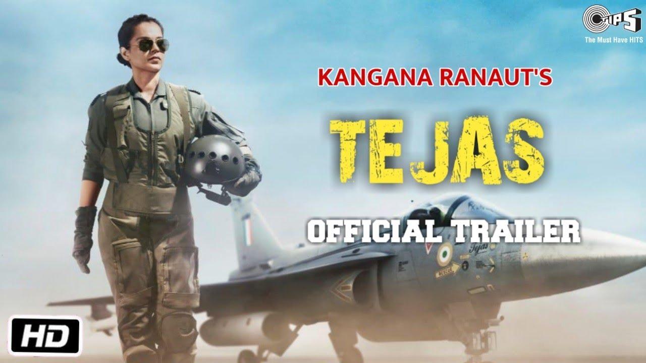 Teajas Movie Trailer | Kangana Ranaut | Playing IAF Pilot | Ronnie Screwvala