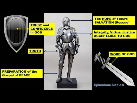 Put on Your God-Given ARMOUR!