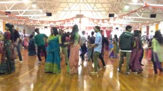 Auckland garba 2013 at Gandhi hall day 6
