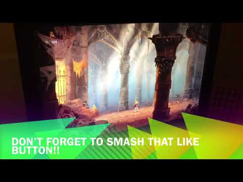 Rayman legends gameplay!!!! (Part 1) |