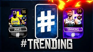 OPENING A #TRENDING PACK!! NBA LIVE MOBILE