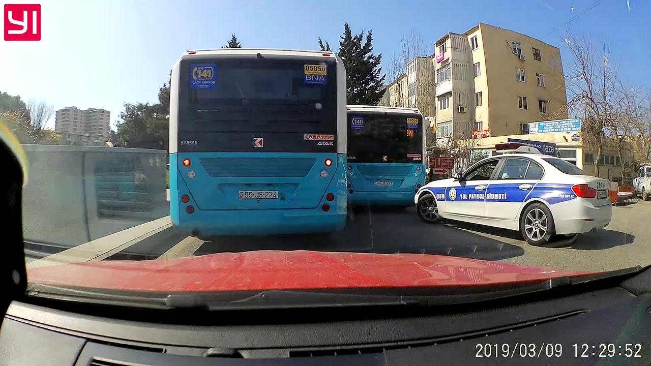 Avtobus sürücüsünə protokol yazillar )