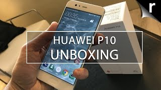 Huawei P10 Unboxing and Hands-on Review: EMUI 5.1 and more!