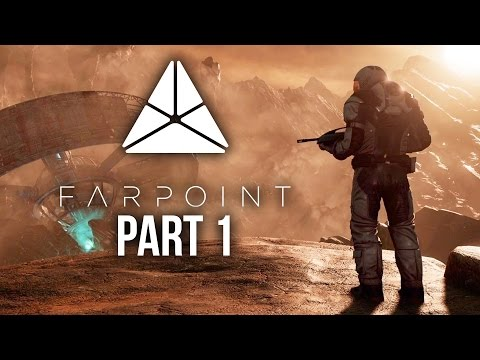 FARPOINT Gameplay Walkthrough Part 1 - INTRO (PS VR Aim Controller)