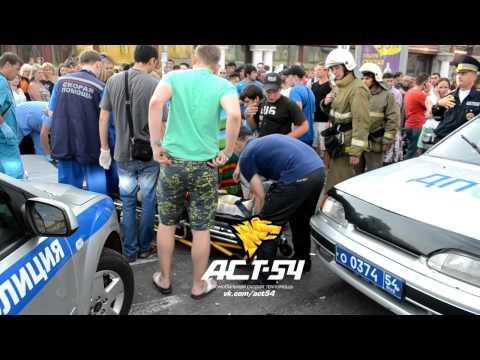 Авария ДТП на проспекте Маркса 22 июня 2014 м. Студенческая
