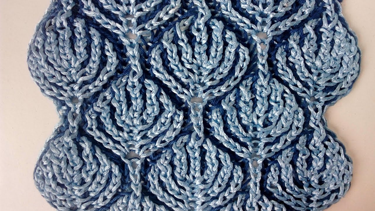 Brioche Knitting Tutorial : Brioche knitting frozen forest patterns youtube