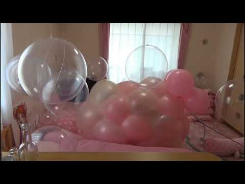 trapped in a sweet balloon - balloon fetish thumbnail