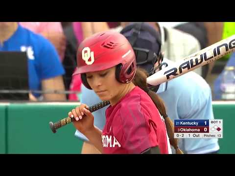 #21 Kentucky Vs. #3 Oklahoma  (Feb.14) | NCAA Softball 2019