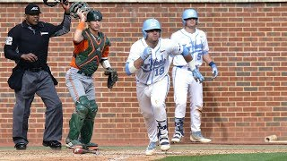 UNC Baseball: Big Bats Help Tar Heels Take Series From Miami