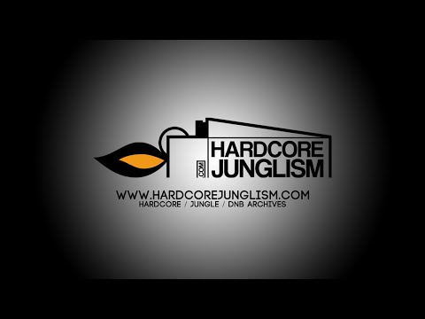 HJ001 - DJ Crystl - The Dark Crystl (VIP) - HARDCORE JUNGLISM VINYL
