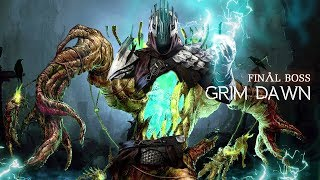 Ashes of Malmouth FINAL BOSS Ultimate, New Grim Dawn DLC, SPOILER Commando vs The Master of Flesh