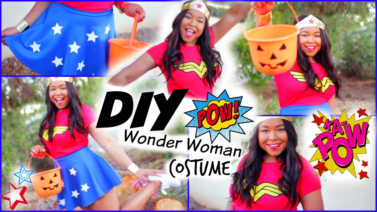 Diy wonder woman halloween costume youtube solutioingenieria Image collections