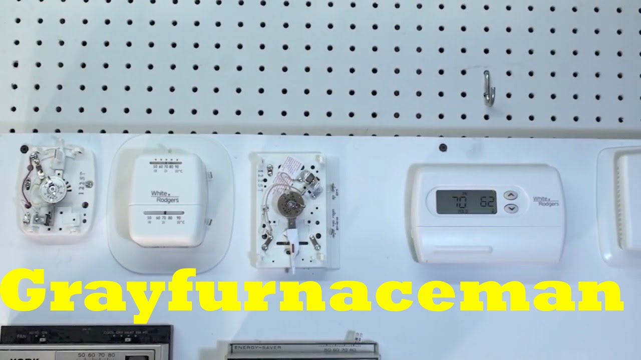 The Mercury Switch Thermostat | HVAC Control