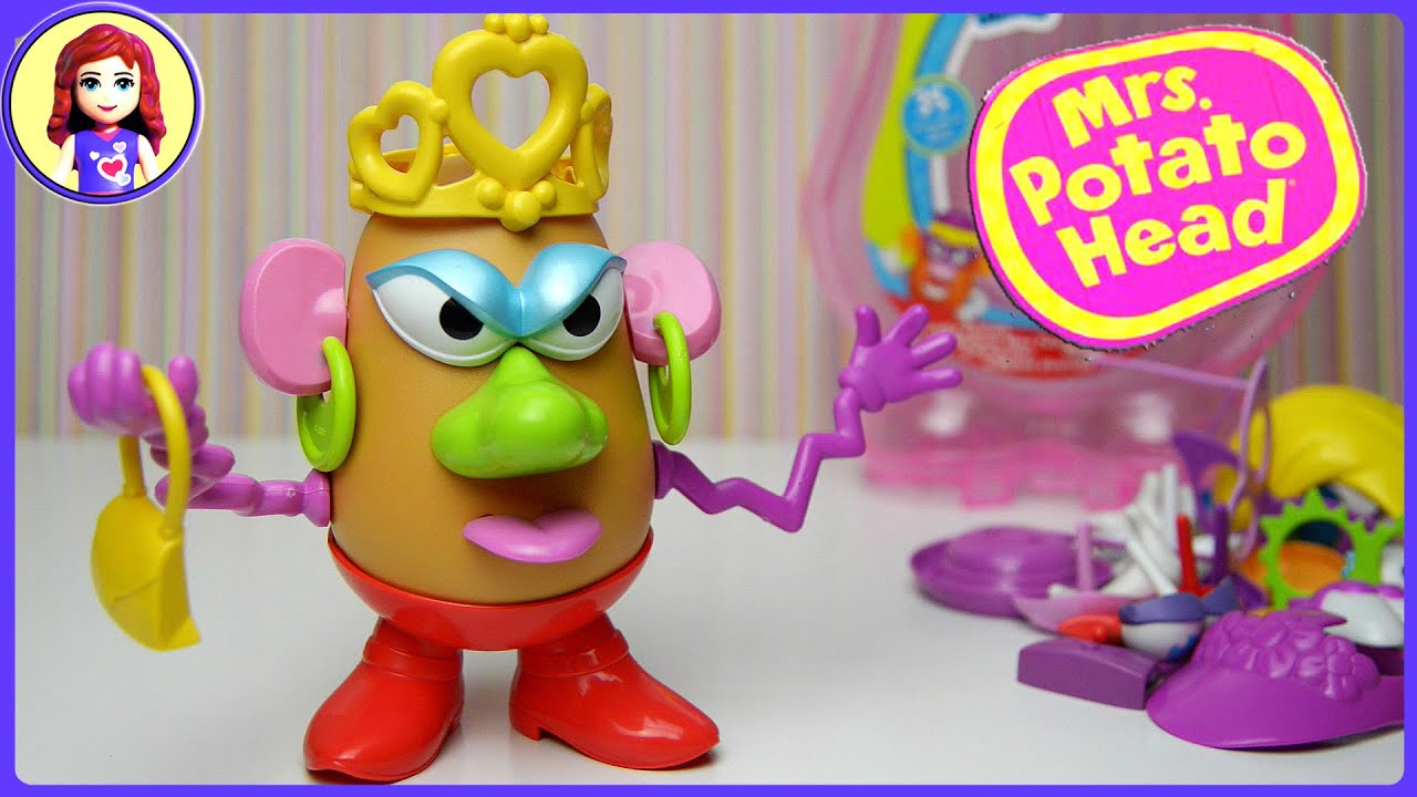 Potato Head Silly Suitcase Toy Unboxing And