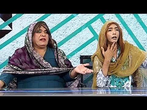 CIA - Agha Majid and Saleem Albela as Khawaja Sara - 14 October 2017   ATV