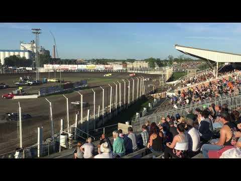 June 28 River Cities Speedway Late model Heat 1