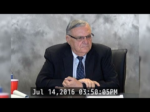RAW VIDEO: Deposition of Sheriff Joe Arpaio (1 of 4)