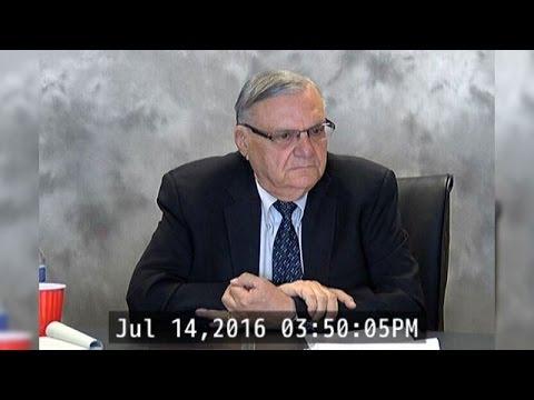 RAW VIDEO: Deposition of Sheriff Joe Arpaio (1 of 4)