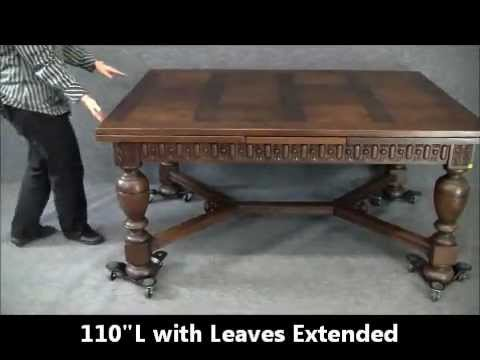 dating antique furniture by legs