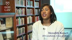 Meet Our Emory Law JD Students: Meredith Barnett 18L