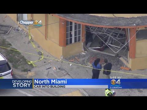 School Van Crashes Into Restaurant