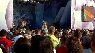 """День ВМФ 2014 Концерт Ярослав Евдокимов """"За Дунаем"""""""