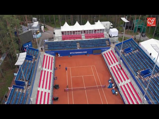 BALTIC OPEN. Экскурсия по Национальному теннисному центру Лиелупе