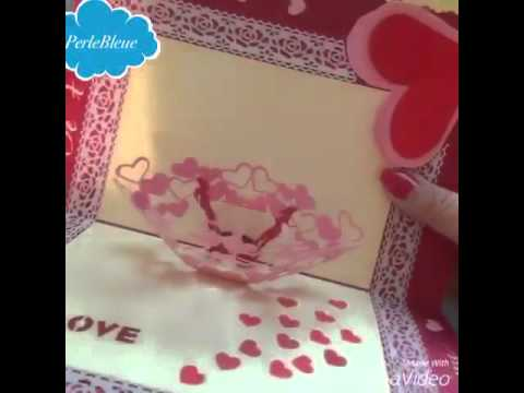 Carte Scrapbooking Carte De Mariage