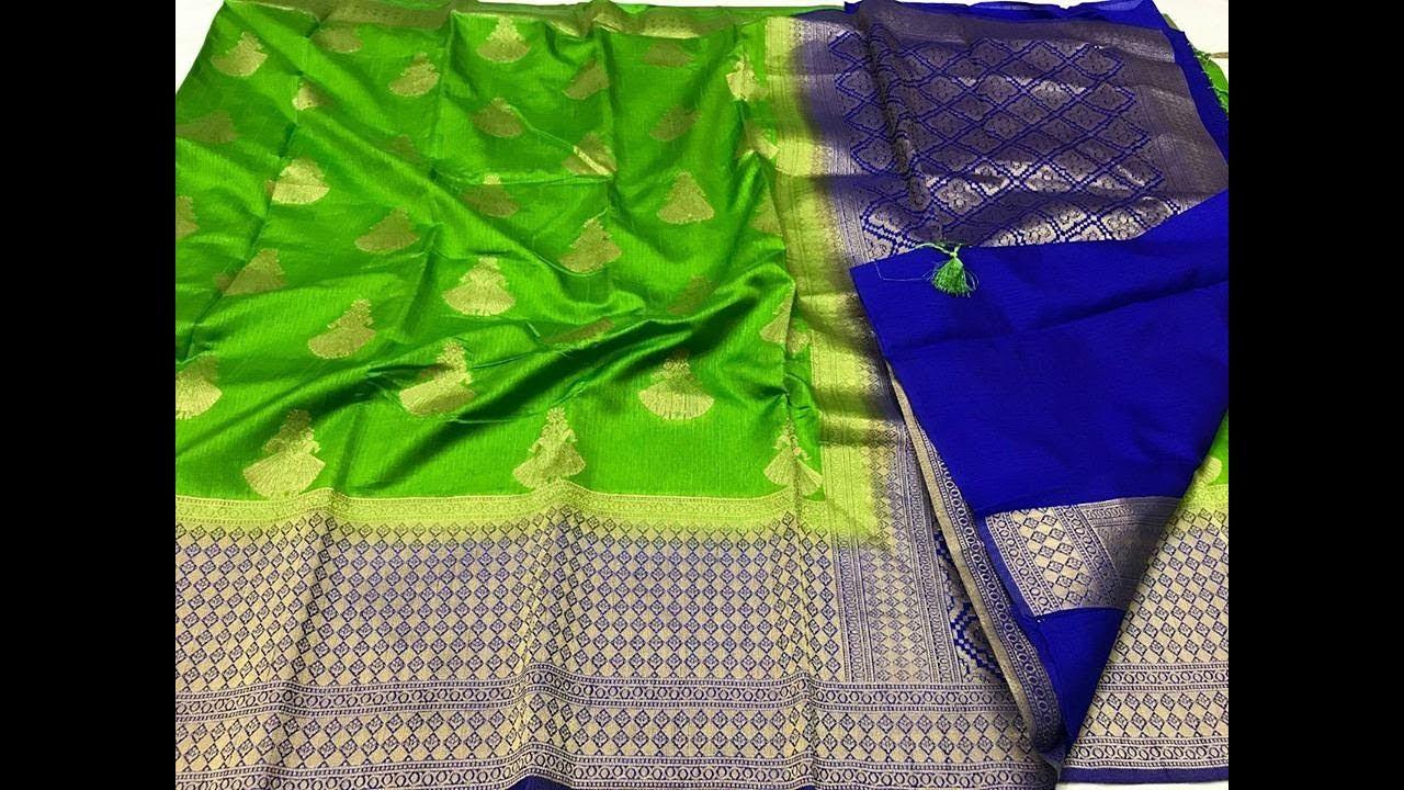 Latest Pure Banaras Soft Jute Silk Sarees || Banaras Soft Silk Saree ||  Latest Jute Silk Sarees