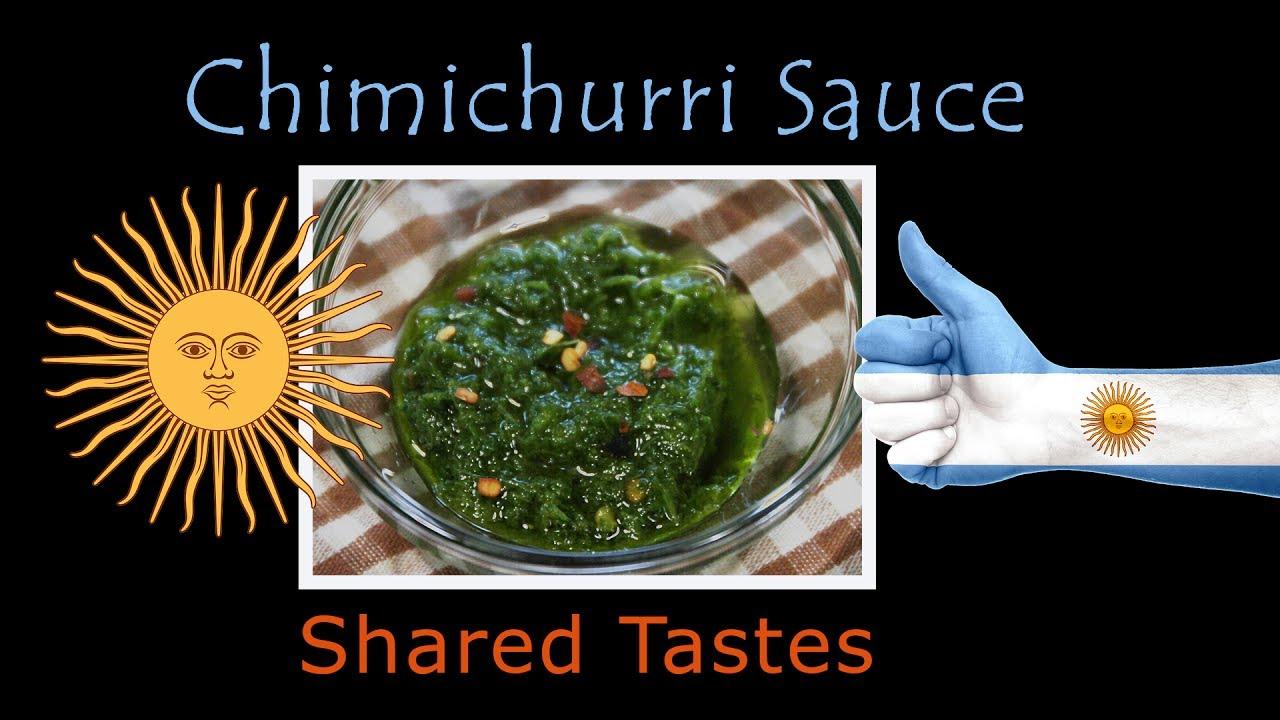 how to make chimichurri sauce youtube