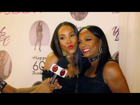 Vivica Fox Talks Black Magic Show at Vanessa Bell Calloway's 60th Birthday Party
