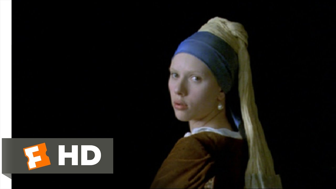 12) Movie Clip  Girl With A Pearl Earring  (2003) Hd
