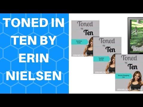 Toned In Ten By Erin Nielsen - Toned In Ten Review
