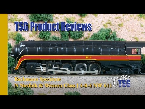 N Scale 4-8-4 Norfolk & Western No. 611 Bachmann Product Review