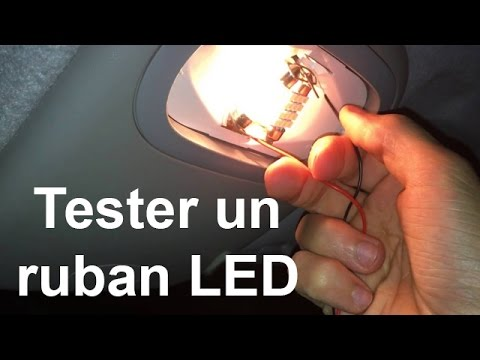 tester un ruban led avant de l 39 installer dans sa voiture youtube. Black Bedroom Furniture Sets. Home Design Ideas