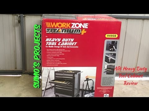 Aldi Tools / Heavy Duty Tool Cabinet Review
