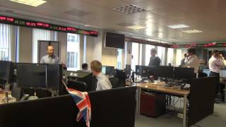 Trading floor tour with ForexSpace and Currencies Direct
