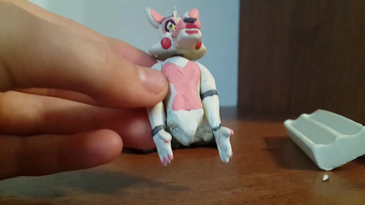 Картинки аниматроника мангал из пластилина