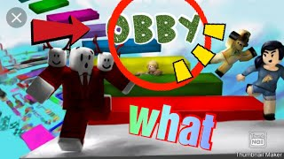 Playing Five Nights at Freddy's Obby on Roblox