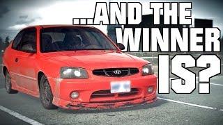 Hoondai Drift! 2k Subs Giveaway Winner Announcement!