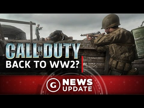"This Year's Call Of Duty Reportedly Called ""WW2"" - GS News Update"