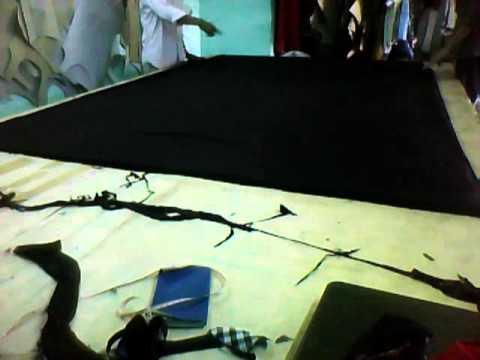 cắt may áo thun cổ tròn