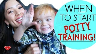 When to Start Potty Training | Michelle from Millennial Moms