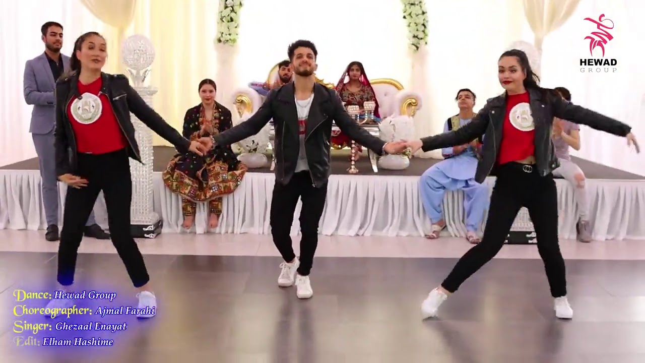 Download New and Shana Paranak dance by Afghan girls & boy of Hewad Group in Pashto song of Ghezaal Enayat