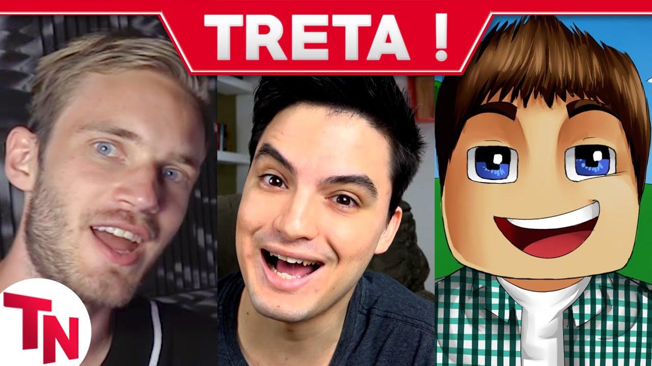 Download Pewdiepie é despejado, Felipe Neto sofre ataque, Authentic critica youtubers de minecraft