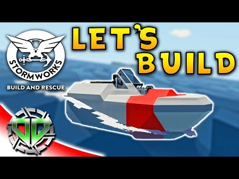 StormWorks Build & Rescue Gameplay : Scrap Mechanic Meets the Sea! (PC Early Access Sandbox)