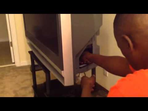 How to change the lamp in your Sony Wega Television.