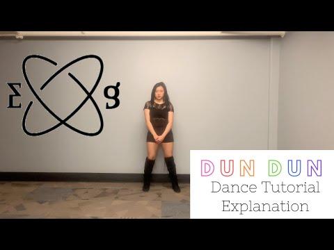 Dun Dun by Everglow Dance TUTORIAL (Explanation&Mirrored) | Felicia Tay