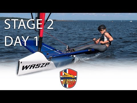 2018 WASZP Cup Norway Stage 2 Åsgårdstrand Day 1 Highlights